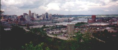 Cincinnati, Ohio..photo taken from Kentucky